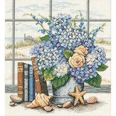Shop for Dimensions Hydrangeas And Shells Cross Stitch Kit. Free Shipping on orders over $45 at Overstock.com - Your Online Sewing