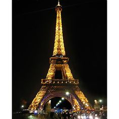 @Overstock - Artist:  Stewart Parr    Title: Paris - Eiffel Tower - night color - Vertical Subject: Cityscapes  http://www.overstock.com/Home-Garden/Stewart-Parr-Paris-Eiffel-Tower-night-color-Unframed-Photo-Print/6166157/product.html?CID=214117 $27.49