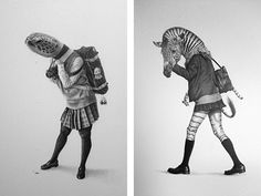 Takumi Kama's fantastical portraits of Japanese Schoolgirls challenge the status quo - Artists Inspire Artists