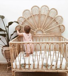 I know we've got a lot of Mother's/soon-to-be-mothers on this page, so I thought I'd share this beautiful bassinet! The birdie bassinet,… cribs Boho Nursery, Nursery Neutral, Nursery Room, Girl Nursery, Nursery Decor, Themed Nursery, Nursery Furniture, Baby Bedroom, Baby Room Decor
