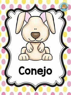 Animales New Class, Educational Activities, Classroom Decor, Hello Kitty, Preschool, Snoopy, Clip Art, Learning, Cards