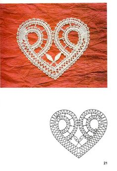 Risultati immagini per klekljanje mjesec i zvezda Hairpin Lace Crochet, Crochet Motifs, Crochet Diagram, Filet Crochet, Irish Crochet, Crochet Shawl, Bobbin Lace Patterns, Bead Loom Patterns, Polly Polly
