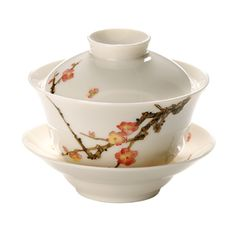 Plum Design Gaiwan, I would love to have a gaiwan, especially one this pretty.