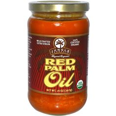 Jungle Products, Red Palm Oil, 14 oz (397 g)