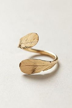 90 Feather Wrap Ring