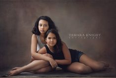 Sister Love. Two sisters by Orlando Photographer, siblings photography, girls, beauty shoots