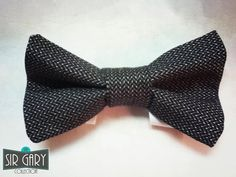 UpCycled Tie Bow Tie Pattern 1 by SirGaryCollection on Etsy, $12.00