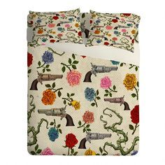 Image result for 1990s roses bed sheets with gold trim