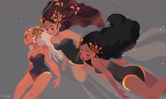 Muses by hyamei on DeviantArt