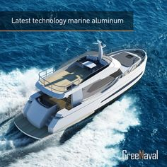 Greenaval is a 0-emission, electric driven and eco-friendly motor yacht brand designed by Naval Yachts . Greenaval is a silent yacht manufactured from 100% recyclable material and propelled with high-tech electric motors. With zero fuel consumption it can cruise up to 20 miles per day. Greenaval appeals to all environmentally friendly yacht enthusiasts preferring silence and comfort in cruising and also maintenance to be easy and cost effective #yacht #ecofriendly