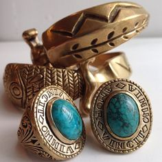 Amor Rings + Dagger Cuffs. Available from: http://www.lhnjewelry.com/collections/mens