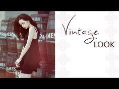 Vintage Look - Photoshop Tutorial ( German/Deutsch ) - YouTube