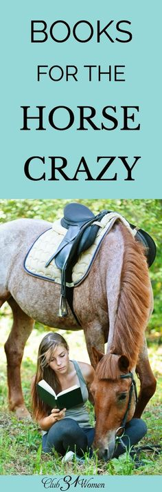 Do you have a middle school girl who loves horses and can't get enough great horse stories? Here is a list of amazing horse stories to add to her list! via /Club31Women/