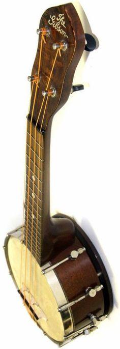 lardyfatboy:  the Gibson UB1 Banjolele  =Lardys Ukulele of the day - a year ago --- https://www.pinterest.com/lardyfatboy/