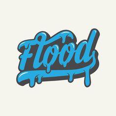 Flood Print ltd Logo on Behance