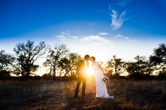 Impossibly lovely sunset wedding photos | Cory Ryan Photography