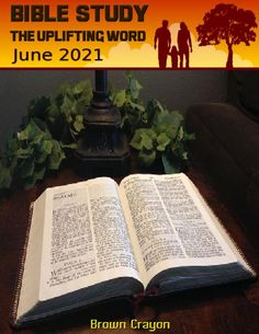 😇 Bible Study The Uplifting Word – June 2021 #BibleStudyTheUpliftingWord Bible Study Group, Uplifting Words, Facebook Likes, Blessing, Worship, Magazines, Religion, Encouragement, June