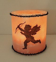 New cherub luminary from  Wishful Wicks.com