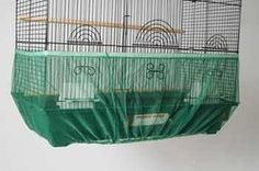 """The mesh seed catcher is designed to fit cages from 52"""" to 100 """" total diameter  The height of the skirt is 9"""" which is large enough to fit ..."""