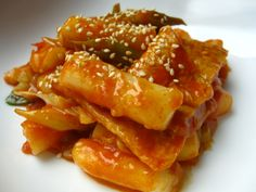Tukbokki: Spicy Korean Rice Cakes