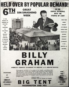Billy Graham, Louis Zamperini and the two nights in 1949 that ...
