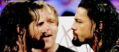 just cute, adorable, funny GIFs of Dean Ambrose. Complete at January 2017 2016 © -lunaticfringe Roman Reigns Gif, Roman Reigns Family, Wwe Seth Rollins, Seth Freakin Rollins, Wwe Funny, Funny Gifs, Wwe Gifs, Roman Reigns Dean Ambrose, Wwe Superstar Roman Reigns