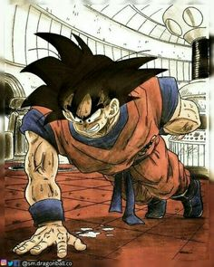 Goku entrenando!!! -Dragon Ball Z
