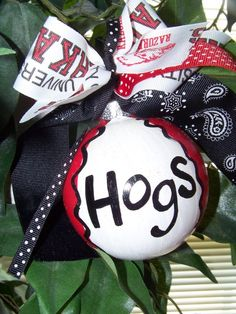 ornament for hog wreath