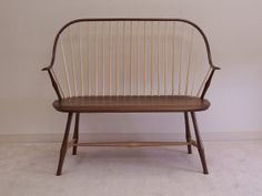 Elbow Settee in Walnut with Maple Wood ($1,570.00) - Svpply