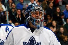 Curtis Joseph, Toronto Maple Leafs Nhl Hockey Teams, Hockey Baby, Nfl Fans, Toronto Maple Leafs, Joseph, The Past, Blue And White, Leaves, Ice