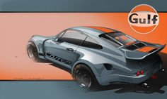 911 Gulf.  Exquisite art, exquisitely rendered.