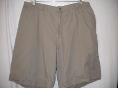 "Columbia Sportswear Size 38"" Stonewashed Granite Cloth Mens Cargo Shorts #Columbia #Cargo"