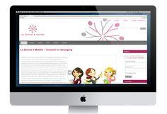 www.ladonnaemobile.nl - Website voor landelijke netwerkclub voor vrouwen La Donna è Mobile, gemaakt met Wordpress en Buddypress