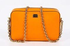 42734b638c Dolce  amp  Gabbana Women s Orange Clutch Crossbody Handbag Dolce And Gabbana  Handbags