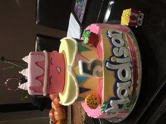 Madison's 5th birthday Shopkins cake!