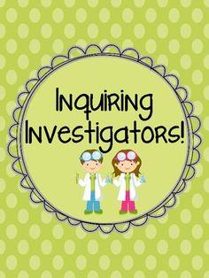 $ Fun and easy! Inquiry Investigators!!