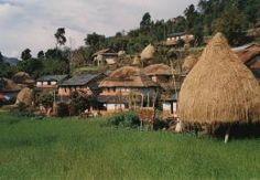 Op het platteland van Nepal in de uitlopers van de Himalaya. Kijk voor meer reisinspiratie op www.nativetravel.nl
