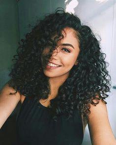 Hair inspiration Get this look by shopping Foreignstrandz Using one of our many. Hair inspiration Get this look by shopping Foreignstrandz Using one Curly To Straight Hair, Short Curly Hair, Straight Hairstyles, Curly Hair Styles, Natural Hair Styles, Black Curly Hair, Curly Hair Weaves, Natural Curly Hair, Relaxed Hairstyles