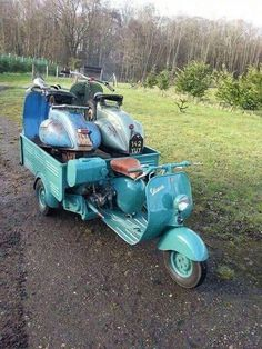 Well, that's an awesome idea. A Vespa to haul around your other Vespas. More
