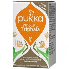 PUKKA Wholistic Triphala 30 caps