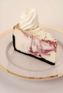 Cheesecake Factory's White Chocolate Raspberry Truffle Cheesecake