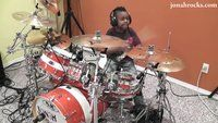 Seven Year Old Kills Everlong Drum Cover - Funny Videos at Videobash