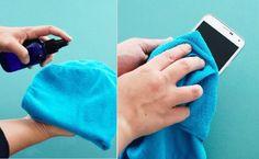 Créez un nettoyant spécial pour vos écrans électroniques