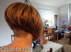 Shaved Bob, Shaved Nape, Graduated Bob Haircuts, Stacked Bob Hairstyles, Short Bob Cuts, Short Hair Cuts, Angled Bobs, Inverted Bob, Stacked Bobs