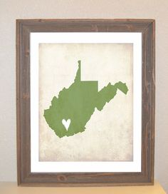 WV poster with a little heart in Webster county :)