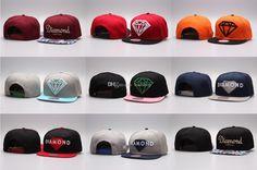 Hot Five 5 Panel Diamond Snapback Caps Hip Hop Hat Cap Bone Baseball Caps Flat Hats Casquette Gorras Planas Bone Aba Reta Toca Adjustable