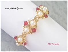2017 Special! Enjoy 10% off with min purchase of $15. Use code <2017special> at checkout to enjoy.  This bracelet tutorial includes details, easy step by step instructions with colour photos/pictures and all of materials list. The bracelet is made using Swarovski bicone and seed beads, which are easily available.  Number of pages 13 Number of Steps 32  Time required approximately 2 hr  Skill Level: Beginner/Intermediate  This tutorial is for your personally pleasure only.  The...