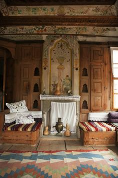 Inside a Traditional House in Safranbolu, Black Sea Region of Turkey