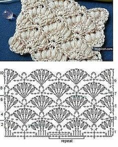 Watch This Video Beauteous Finished Make Crochet Look Like Knitting (the Waistcoat Stitch) Ideas. Amazing Make Crochet Look Like Knitting (the Waistcoat Stitch) Ideas. Crochet Stitches Chart, Crochet Motifs, Crochet Flower Patterns, Crochet Diagram, Crochet Designs, Crochet Flowers, Gilet Crochet, Tunisian Crochet, Love Crochet