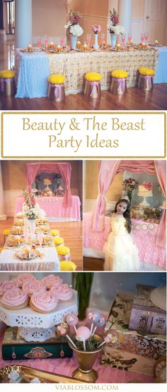 You will fall in love with our Beauty and the Beast Party Ideas for a magical Princess Party! All the Beauty and The Beast Party supplies for a gorgeous royal party!